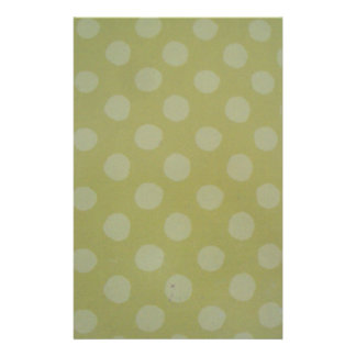 standard in green and white balls stationery design