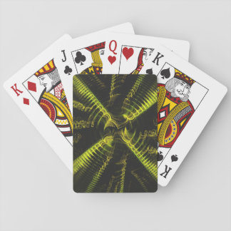 Standard Index Playing Cards Abstract Yellow/Black