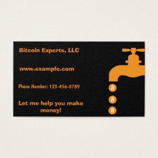 Standard Matte Bitcoin Custom Business Card