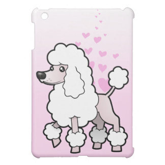 Standard/Miniature/Toy Poodle Love (show cut) iPad Mini Case