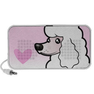 Standard/Miniature/Toy Poodle Love (show cut) Notebook Speakers
