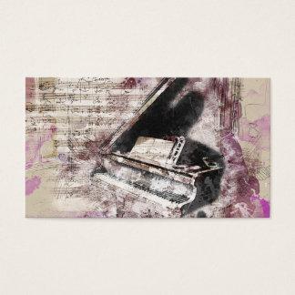 """Standard music  card , 3.5"""" x 2.0"""", Standard Matte"""