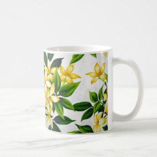 standard of flowers coffee mug