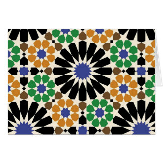 standard of geometric forms card