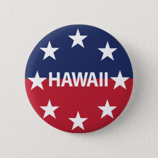 Standard of the governor of Hawaiʻi 6 Cm Round Badge