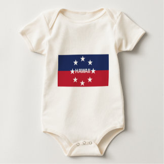 Standard of the governor of Hawaiʻi Baby Bodysuit