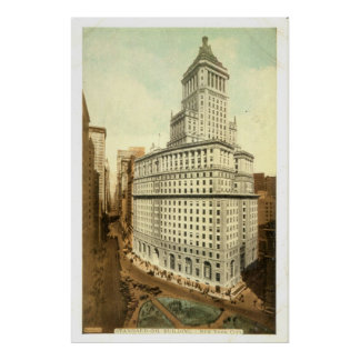 Standard Oil Company Building, New York City, 1920 Poster