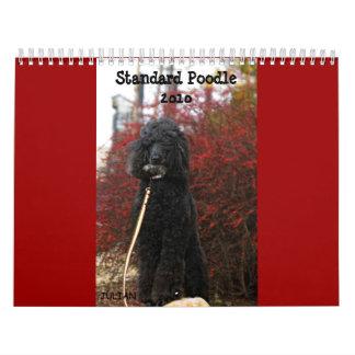 Standard Poodle 2010 Calendar