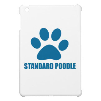 STANDARD POODLE DOG DESIGNS CASE FOR THE iPad MINI