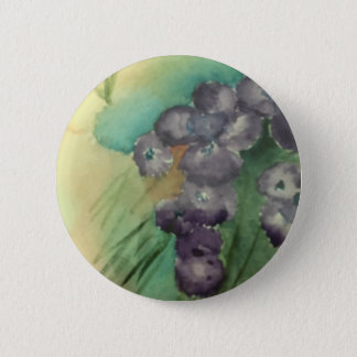 Standard Round Button with original watercolor