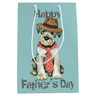 Standard Schnauzer Dad Medium Gift Bag
