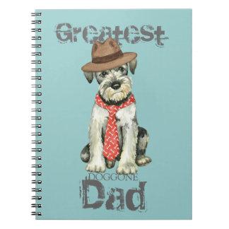 Standard Schnauzer Dad Notebooks