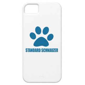 STANDARD SCHNAUZER DOG DESIGNS CASE FOR THE iPhone 5
