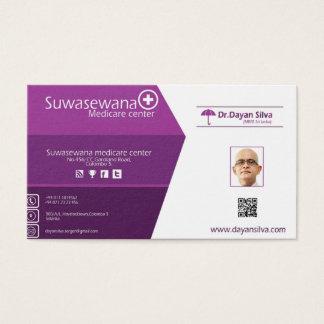 standard size business card