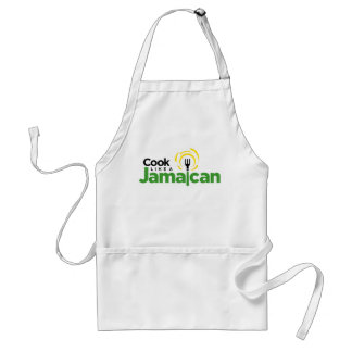 Standard White Cotton Apron