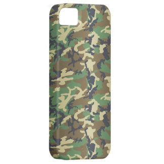Standard Woodland Camo iPhone 5 Case