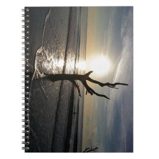 """Standing Alone"" Spiral Notebook"