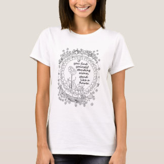 Standing Alone Women's Color Me T-Shirt