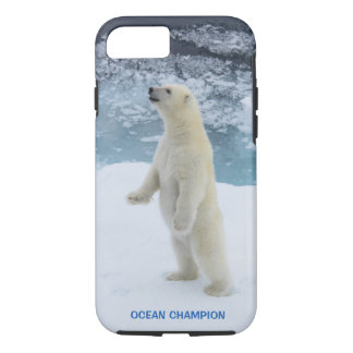 Standing Arctic Polar Bear iPhone 8/7 Case