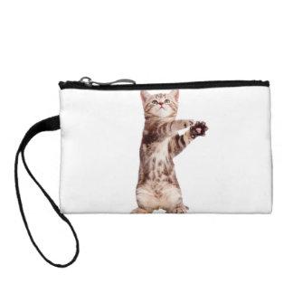 Standing cat - kitty - pet - feline - pet cat coin purse