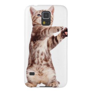 Standing cat - kitty - pet - feline - pet cat galaxy s5 covers