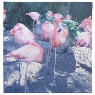 Standing Flamingo Napkins
