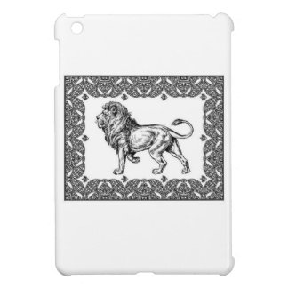 Standing Framed lion Case For The iPad Mini