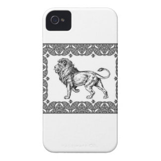 Standing Framed lion Case-Mate iPhone 4 Case