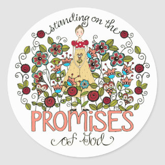 Standing on God's Promises Stickers