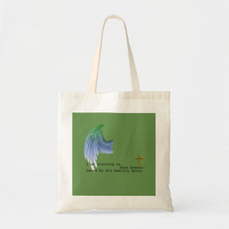 Standing on Hope Ave Tote Bag