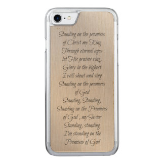 Standing on the Promises of God Carved iPhone 7 Case