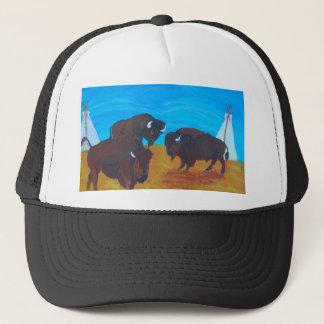 Standing proud trucker hat