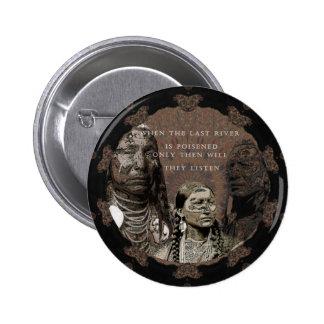 Standing Rock 6 Cm Round Badge