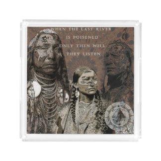 Standing Rock Acrylic Tray