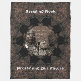 Standing Rock Fleece Blanket