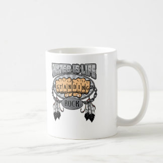 Standing Rock Water is Life Fists Coffee Mug