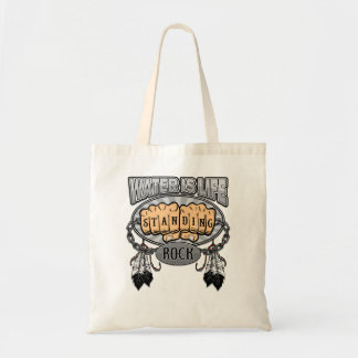 Standing Rock Water is Life Fists Tote Bag