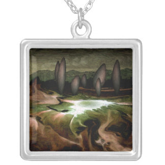 Standing Stone Circle Necklace