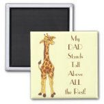 Standing Tall Giraffe - Special DAD Magnet