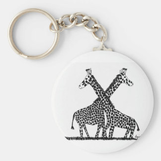 Standing tall key ring
