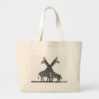 Standing tall large tote bag