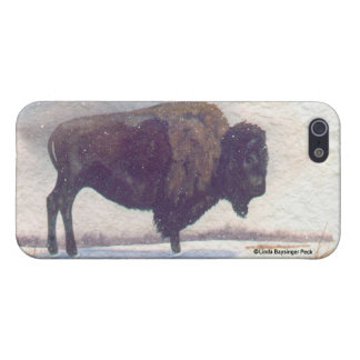 Stands Alone Buffalo iPhone 5 Cover