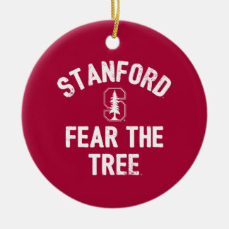 Stanford University | Fear The Stanford Tree Ceramic Ornament