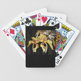 Stanhopea Orchid Playing cards