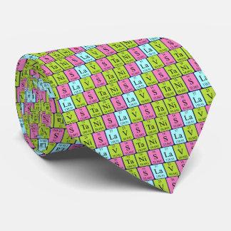 Stanislav periodic table name tie