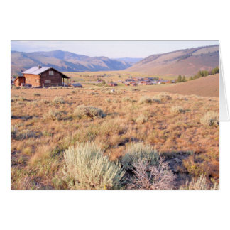 Stanley, Idaho Card