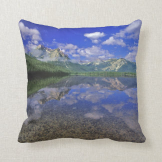Stanley Lake in the Sawtooth Mountains of Idaho Cushion