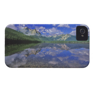 Stanley Lake in the Sawtooth Mountains of Idaho iPhone 4 Case-Mate Cases