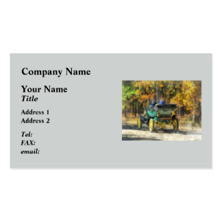 Stanley Steamer Automobile Business Card Templates