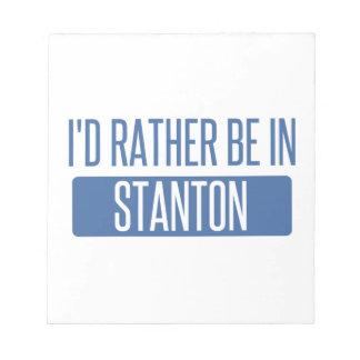 Stanton Notepad